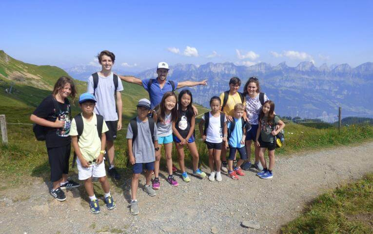 Excursions at JT Camp Switzerland