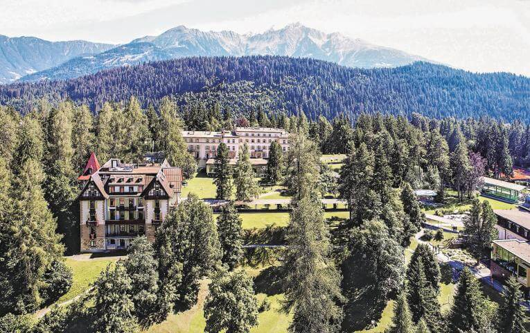 Flims Waldhaus Partner JTCamp Switzerland